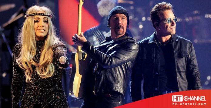 Lady Gaga - U2 - Bono - Hit Channel