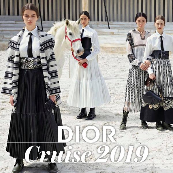 09a3d30232c Dior Cruise 2019 show: Δείτε όλα όσα έγιναν στην πιο εντυπωσιακή ...